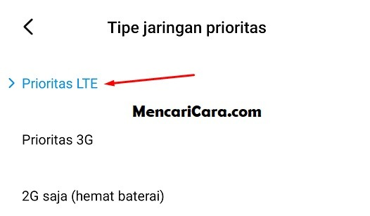cara setting 4g only di hp android